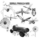 Metal World One Brushes by ArthurRamsey