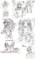 Sketch Dump - Rise of the guardians by ingridsailor2009