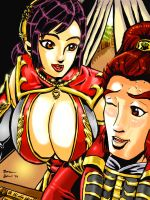 Dynasty Warriors 8 Stratergy Meeting Distractions by TheGTC