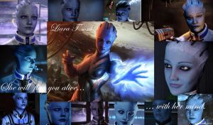 Liara T'soni - Flayer of Minds by ShadowcatPrime