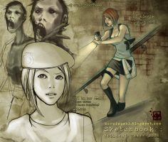 Sketchbook 2: Resident Evil by ladyfish