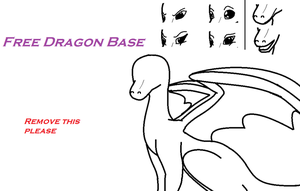 Dragon base by Meerkatgirl1342