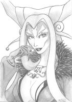 Timeless Beauty - Ultimecia by Dmikado