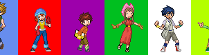 Sprite: Digimon Adventures by L-mon