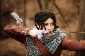 Katnis Everdeen - Catching Fire by StarbitCosplay