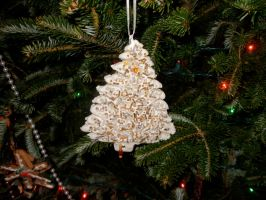 Christmas tree,Ornament,cookie dough by FoxiArtist