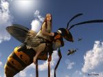 Wasp Rider by ErikDShipley