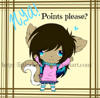 points please? nya~ by LittleChewrrie