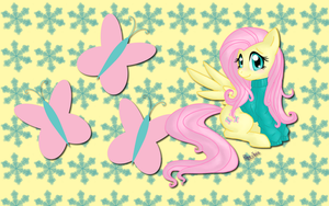 Fluttershy Jumper WP by AliceHumanSacrifice0