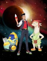 Space Dandy by Arbitrarian