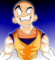Krillin Rocks by DreZX