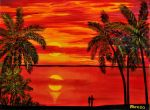 MAUI SUNSET by ARTBYTERESA