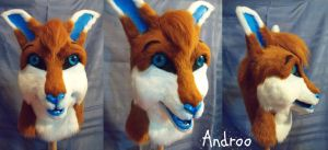 Androo Mask by ScratchKitty