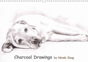 Charcoal Drawings by Nicole Zeug by ArtsandDogs