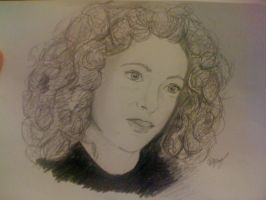 Alex Kingston River Song by Morphinelips89