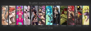 2013 in review! by Flesh-Odium