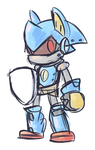 Spiral Knight doodle by Goronic
