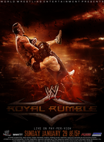 WWE Royal Rumble 2012 by PainSindicate