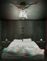 Last Exorcism 2 poster 3-D conversion by MVRamsey
