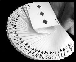 Fan of Playing Cards by bernizzle
