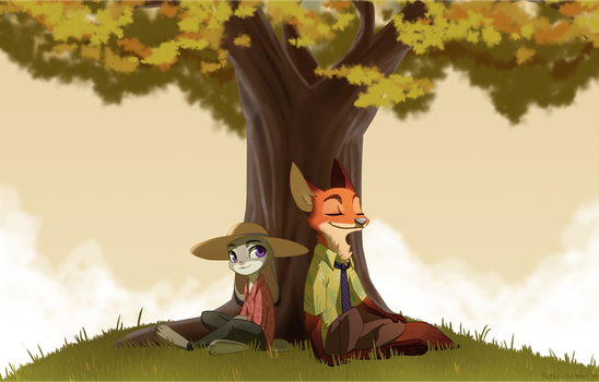 Soothing Breeze by Paper-Rabbit