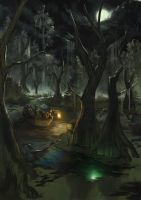 Swamp for LotFP by Rhineville