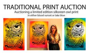 Print Auction by ClaraBacou