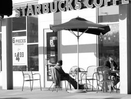 starbucks hollywood by myoung4828