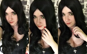 Lady Loki Wig Test by SakuraOmori
