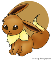 Eevee by Isi-Daddy