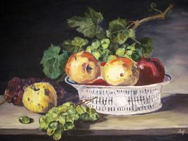 Fruit Still Life by rosarija