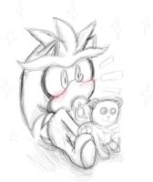 Sketch - Baby Silver by SonicMiku