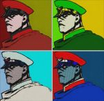 M. Bison video games comic print popart by TheGreatDevin