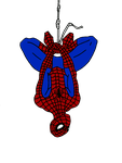 Spiderman Upside-down (2) by camdencc