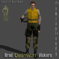 Brad 'Chickenheart' Vickers V.2 (Update) by DamianHandy