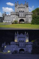 Day to Night Castle by Cobawsky