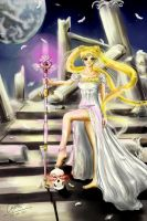 Sailor Moon - princess Serenity - Innocence lost by sasorizanoko