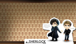 Sherlocked Wallpaper by Solstice-11