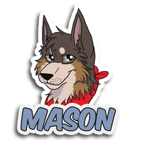 Mason Badge -Gift- by RiverBelle