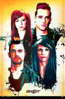 Skillet Poster by witnessGFX