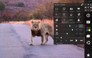 Windows 10 - Charms Bar: Action Center v.5 by TechInterest