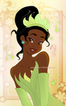 A Flower Named Tiana by Nippy13