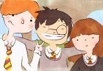 The Golden Trio by penguinkirby