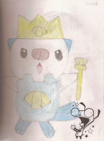 King Oshawott by AmandaPanda18