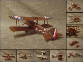 Royal Aircraft Factory S.E.5a [1:72] by WormWoodTheStar