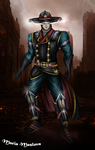 MKX - Kung Lao - Kold War by SovietMentality
