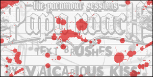 :Papa Roach Text Brushes 4 PS: by Vampire--Kiss
