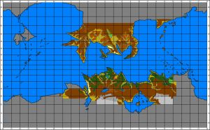 Map Of Pern by AMCAlmaron