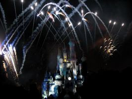 Disney Fireworks 8 by ModernMessiah-Photos