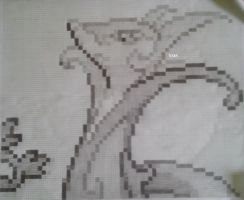 Serperior graph art Sprite by Vongxm